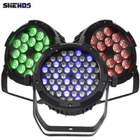 SHHDS LED Płaski Wodoodporna 54x3W / 18x18W / 12W Par Light DMX Controller Party DJ Disco Bar Strobe Demming Effector Projektor Szybka dostawa
