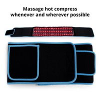 Stock in USA LED Waist Belts Red Light Infrared Therapy Belt Pain Relief LLLT Lipolysis Body Shaping Sculpting 660nm 850nm Lipo Laser