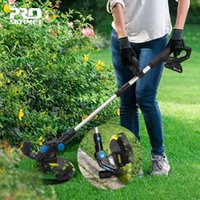 PROSTORMER Lawn Mower Electric Grass Trimmer 20V Lithium-ion 2000mAh Cordless Grass String Trimmer Pruning Cutter Garden Tools T200115