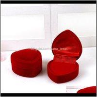 포장 디스플레이 쥬얼리 쥬얼리 4.8 * 4.8 * 3.5cm 목걸이 반지 귀걸이 저장 상자 Cajas de Regalo 선물 상자 Caixas 파라 프리젠 테이프