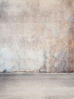 Beschädigte Wand Kinder Vinyl Fotografie Kulisse Neugeborene Geburtstags-Foto-Stand-Hintergründe für Kinder Studio-Requisiten