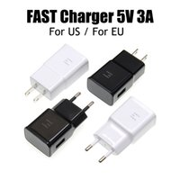 100DHL OEM USB Wall Chargers 5V 3A 2A 1A US EU Plug Travel Power Adapter Quick Fast Charger for Samsung