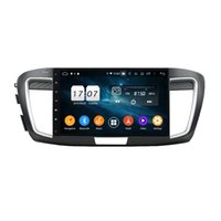 """4GB + 128 Go 10.1 """"PX6 Android 10 Lecteur DVD DSP Radio GPS Navigation pour Honda Accord 9 2015 2017 2017 Bluetooth 5.0 WiFi Easy Connect"""