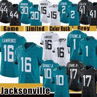 "Trevor Lawrence Football Jersey Josh Allen Robinson II Travis Etienne Jacksonville ""Jaguars"" James Robinson Shenault Jr. Myles Jack Taylor D.J. Chark henderson"