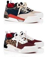 Newstyle Aurelien Red Bottom Casual Shoes for Men Sneaker Buty Sportowe Płaskie Aurelimens Sneakers Trenerzy Urodziny Ślubny Prezent Środkowy Lace-UP Mieszkania Para Trener