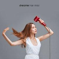 2021 Xiaomi Youpin Dreame Anion Sèche-cheveux Sèche-cheveux Intelligent Température Contrôle Négatif ION Mâle Femme 110 000 tr / min Dual Puissant Dispositif