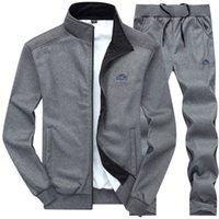 Herren Hoodies Mode Designer Große Sportanzugkragen Massivfarbe Frühling und Herbst Langarm Cardigan Sweatshirts Perfekt für Jeans und Hosen