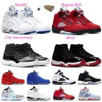 nike air jordon 5s 11s TOP 3 NOUVEAU 5 5S NOIRS HOMMENTS BASKETBALL chaussures feu rouge 2020 Île Island Green Mens Baskets Formateurs US 7-13