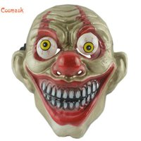 Party Masks Cosmask Halloween Eye Popping Face Mask Adult Costume Horror Carnival Cosplay Props