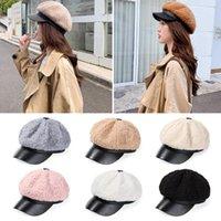 Berets Women Elegant Casual Outdoor Warm Wool Navy Cap Beret Hat Painter