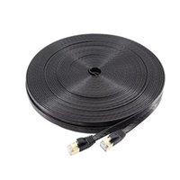 Ethernet kablosu RJ45 CAT7 LAN ağ kablosu için CAT6 için Uyumlu Yama Kablosu Modem yönlendirici kablo DHL için hızlı teslimat