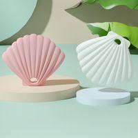 Storage Bottles & Jars 2021 Seashells Face Mask Box Portable Packaging Dustproof Silicone Folder