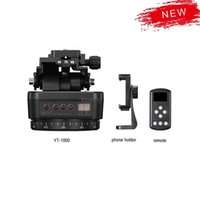 Infinity Panoramic head Automatic Tripod Stabilizer Aluminum Motorized Rotating control for CN Phones Cameras DSLR