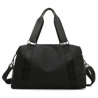LU-203 LULU Hand Yoga Bag Weibliche Nass Wasserdichte Große Gepäcktaschen Reisen Gym Sacks Handtasche Messenger Reißverschluss Outdoor Packs 50 * 28 * 22 Hohe Qualität mit Marke Logo