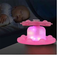 Rainbow Luminous Push Pioneer Silicone Fidget Toys Poppers Bubbles Fingertip Top Adjustable Kids Home LED Night-light Decompression Toy Gifts G95EF0X