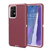 For iPhone 12 11 pro max XS XR Defender case no clip Armor Shockproof cover i7 8 plus 6s SE 2020 Samsung S21 Ultra s20 note 20