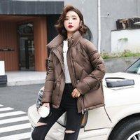 Women's Down & Parkas Fdfklak Korean Fashion Loose Thick Warm Zipper Jacket Women Short Casual Stand-Up Collar Female Coat Winter Doudoune F