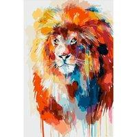 Dipinti da numeri 40 * 50 kit per adulti figura pittura numero animale decorazione domestica art art cricfti regalo fai da te