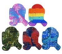 20 cm 28cm 46cm brinquedos empurrar bolha autismo precisa de squishy estresse releiver adulto criança engraçado anti-stress fidegeta brinquedo presentes de natal arco-íris cores