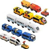 قطار كهربائي أطفال لعب مجموعة قطار دييكاست فتحة لعبة صالح للقطار القياسية قطار قطار السكك الحديدية 210607