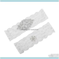 Aessories , Party & Eventsplus Size Bridal Crystals Pearls For Bride Lace Belt White Wedding Leg Garters Real Pynnb