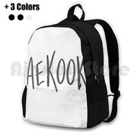 Taekook Gray Outdoor Hiking Backpack Waterproof Camping Travel B A P Ikon Got7 Winner Vixx Twice Korean Music Lover Nct