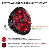 Светодиодные светодиоды терапии светодиодные лампы 54w красные огни красные 660 нм и возле инфракрасных 850 нм световые латерапии лампы для облегчения боли кожи