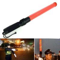 Наружная безопасность светодиодный сигнал трафика предупреждение мигает ночью палочкой от руки 540 мм свет фонари