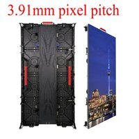 Alquiler de LED LED Tablero de pantalla 500x1000mm Tamaño Panel 3.91 Pixel Pitch Muestra a todo color Hecho en Shenzhen