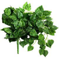 Dekorative Blumen Kränze Zereignis Kranzblatt Suspendierte Rebe für Haus- und Gartenwanddekoration, Grün