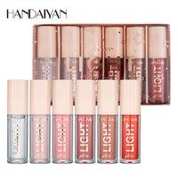 Handiyan Impermeabile Lunga durata Idratante Light Lip Gloss Trucco di bellezza 6pcs / Set