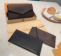 Sammlung von Multifunktions-Pochette-Accessoires Handtasche Leder Blumen Schulter Messenger Bag Frauen 3 Brieftaschen