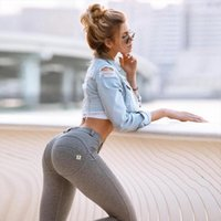 Girls Joggers Mujer Fitness Womens Legging Activewear Jeans Butt Scrunch Gym Booty Lifting Sexy