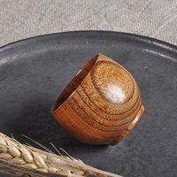 2021 New Arrival Wooden Cup Wood Coffee Tea Beer Juice Milk Water Mug Primitive Handmade Natural Dropshipping#L4
