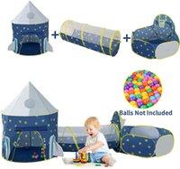 Kids Play Tendes GRAWL TUNNELS E POTO POT POPUP BOUNCE PLAYHOUSE Tenda con tela da basket per uso esterno per uso interno 3 in 1