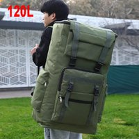 Outdoor Bags 120L Large Military Bag Tactical Backpack Waterproof Assault Luggage Sport Trekking Camping Travel Men X224A
