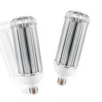 LED coberto Bulbo de milho de alumínio AC 85-265V E27 E40 SMD5730 30W 50W Lâmpada de economia de energia 360 graus para Indoor Home Workshop Workshop Workhouse Iluminação