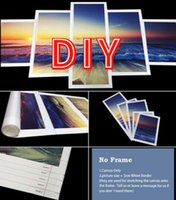 DIY 5PCS Painting Modern Canvas Wall Art Printed Decorative Pictures for Home Wall Decor