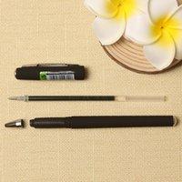 Gel Pens 12 Pcs Box 0.5mm Business Neutral Signature Pen Black Ink Refill Gift Matte Rod School Writing The Office Supplies