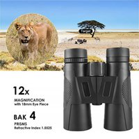 Binoculars 12x42 Long Range 1000m HD High Power Zoom Telescope Optical Glass Lens Low Vision For Hunting Sports Tools Gift