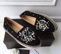 Tiple S дизайнерские кроссовки обнаженные тренажеры кожаные классики бежевые женщины Espadriilles плоская обувь холст боулинг Lambskin Loafers Tenec Dimond мода повседневный большой размер