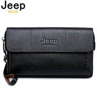 Jeep Buluo Berühmte Marke Männer Handtasche Tag Kupplungen Taschen Luxus Für Handy Und Stift Hochwertige verschüttete Leder Brieftaschen Handtasche