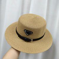 Lüks Tasarımcı Kapaklar Erkek Erkekler Eğik Tasarımcılar Hasır Şapka Şapka Yüksek Kalite Yaz Şapka Kadın Lüks Tasarımcılar Hasır Şapka Bayan 2105131Y