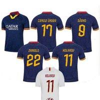 2019 прочь третий синий DZEKO Perotti Pastore Zaniolo футбол футбол 19 20 Totti de Rossi Rome футбол футбол набор 2020