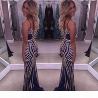 Bling Long Prom Dresses 2019 V-Neck Sleeveless Zipper Sweep Train Tulle With Crystal Straight Party Evening Dresses Custom Made HY223