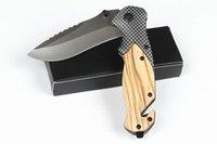 أدوات يدوية X50 للطي جيب الفاكهة تقشير سكين التكتيكية بقاء التخييم edc أداة الصلب + الخشب مقبض 440c بليد