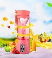 380ml Blender personale Blender portatile Mini Blender USB spremiagrumi tazza cucina design elettrico spremiagrumi bottiglia di frutta succo di frutta strumento 325 V2