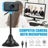 Webcams 480P USB 2.0 Driver-free Web Camera Webcam With Mic For Video Conference Netmeeting Computer PC Laptop Desktop