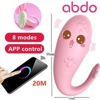 Abdo приложение дистанционное управление силиконовая маленькая кошка лап вибратор взрослых секс игрушки g-тощий массаж сделан для женщин