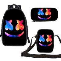 حقيبة ظهر مدرسية Marshmello Marshmello للأطفال والطلاب